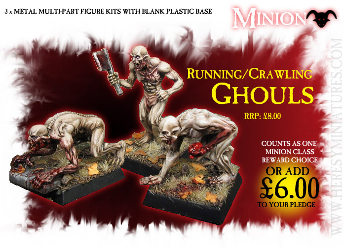 MINION) GHOUL HAG & CHILD [KS GHOULHAGCHILD] : Heresy Miniatures Ltd