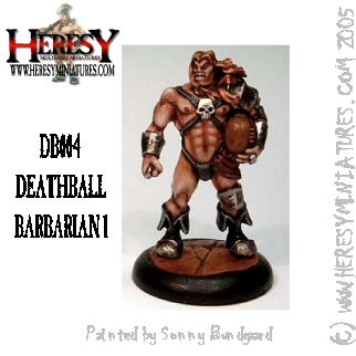 Deathball Mullet The Barbarian METAL VERSION - Click Image to Close