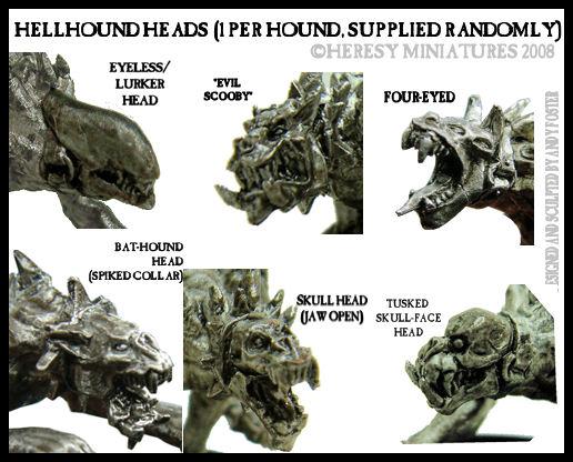 Hellhound #3 (full pelt running) [DEMON030] - £4 50 : Heresy