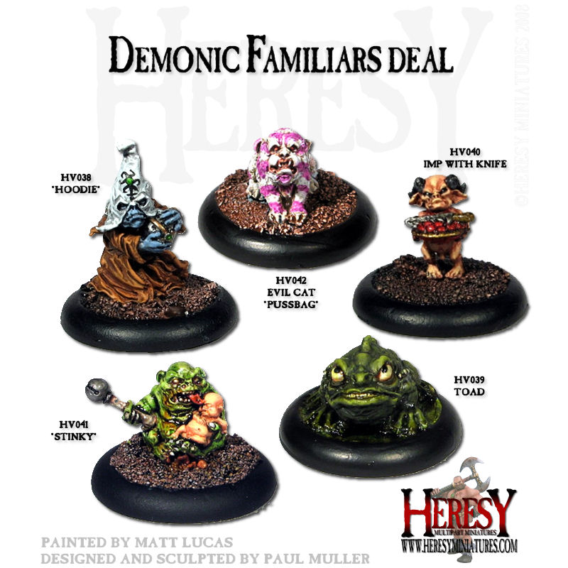 Demonic Familiars Deal - Click Image to Close