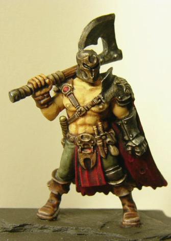Barbarian Warlord Heroes013 163 5 10 Heresy Miniatures