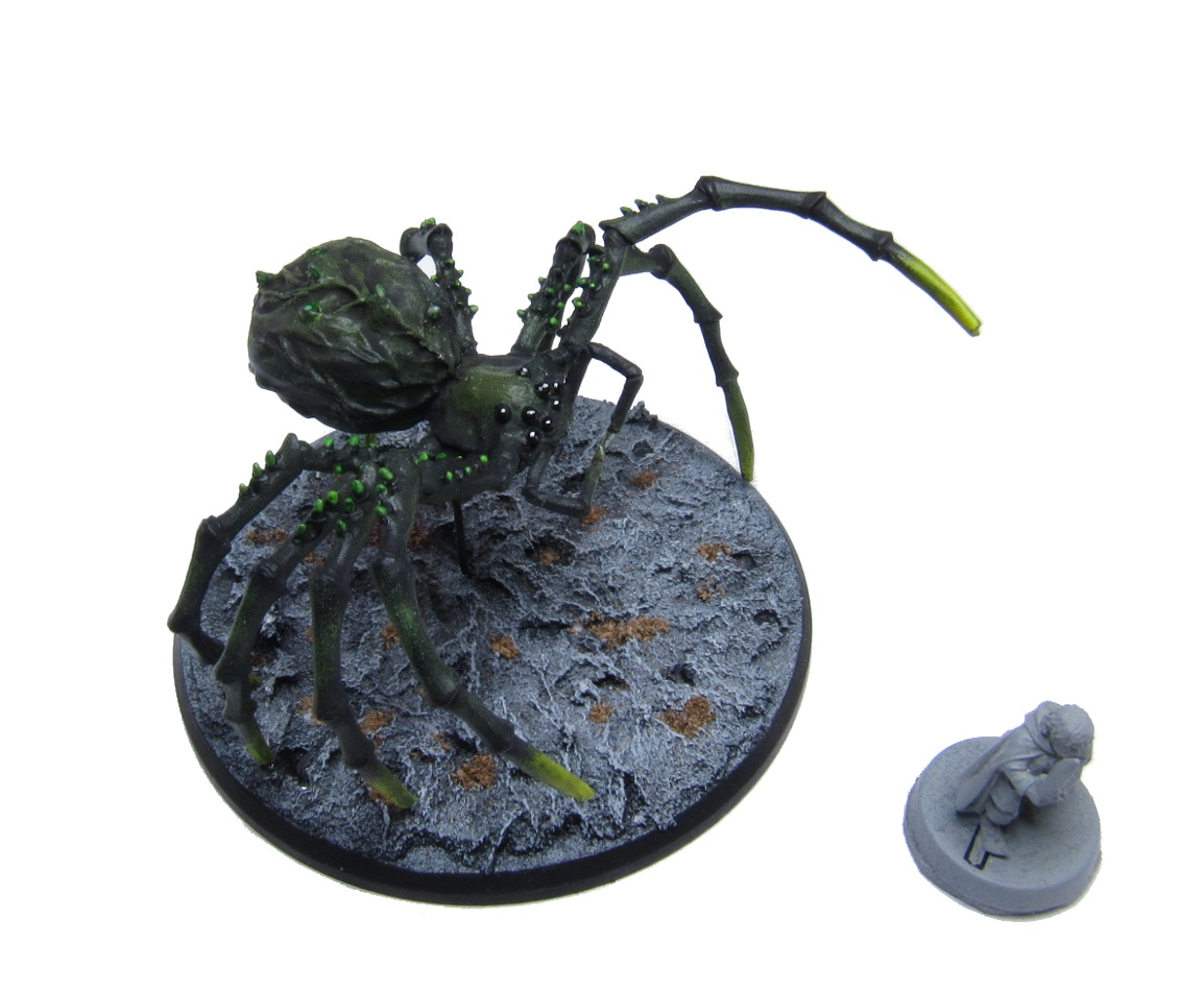 Monstrous Spider - (NEW) RESIN & Metal version - Click Image to Close