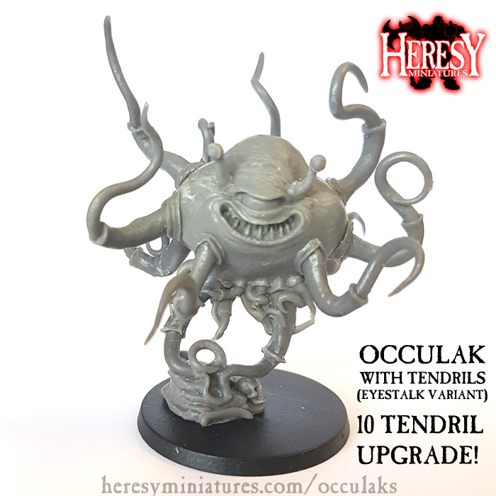 Occulak with ten tendrils