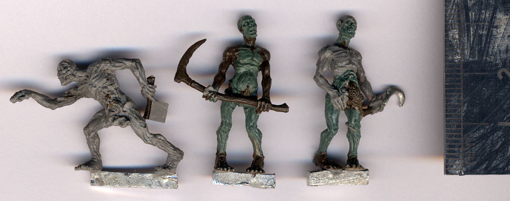 Zombies Pack #1 (4 figures) - Click Image to Close