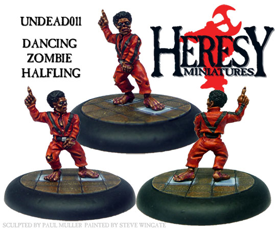 Dancing Zombie Halfling - Click Image to Close