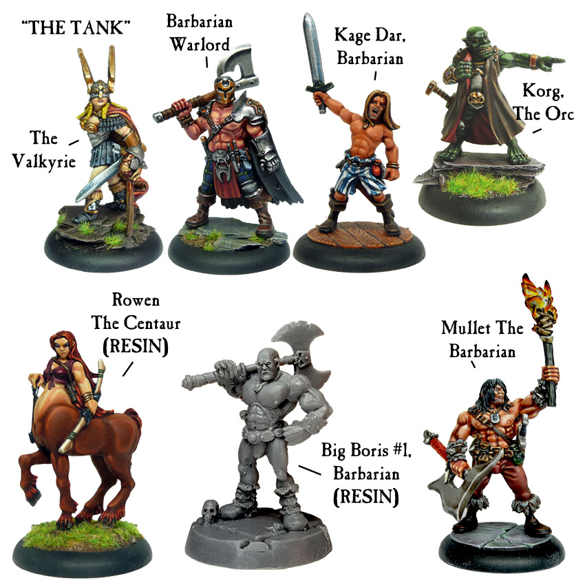 Adventurer Party Deal (5 Figures) - Click Image to Close
