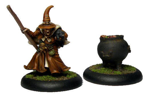 Witch (with//without Cauldron) - Click Image to Close