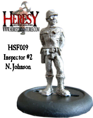 Inspector #2 ('Johnson') with Glasses - Click Image to Close