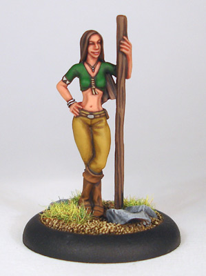 Half-Elf Spiritbinder - S'Onna - Click Image to Close