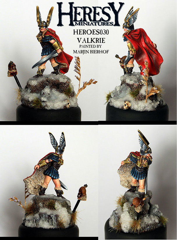 Valkyrie - Heidi Sigrsdotter (RESIN VERSION) - Click Image to Close
