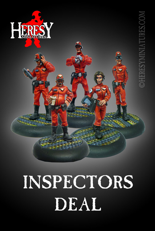 Inspectors Deal Pack - Click Image to Close