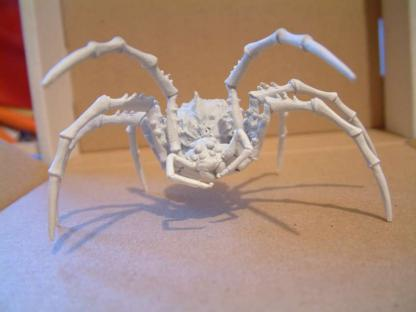 Monstrous Spider - ALL METAL VERSION - Limited Casting Run - Click Image to Close
