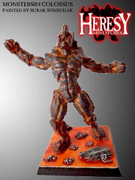 (RESIN) 'COLOSSUS' ELEMENTAL - Click Image to Close