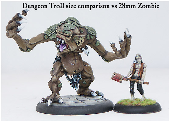 (RESIN) DUNGEON TROLL #1 - Click Image to Close