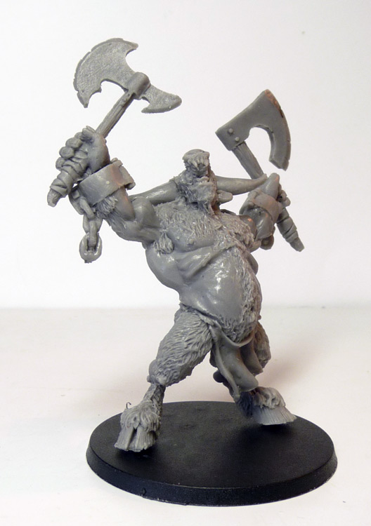 (RESIN) MANBANE THE MINOTAUR - Click Image to Close