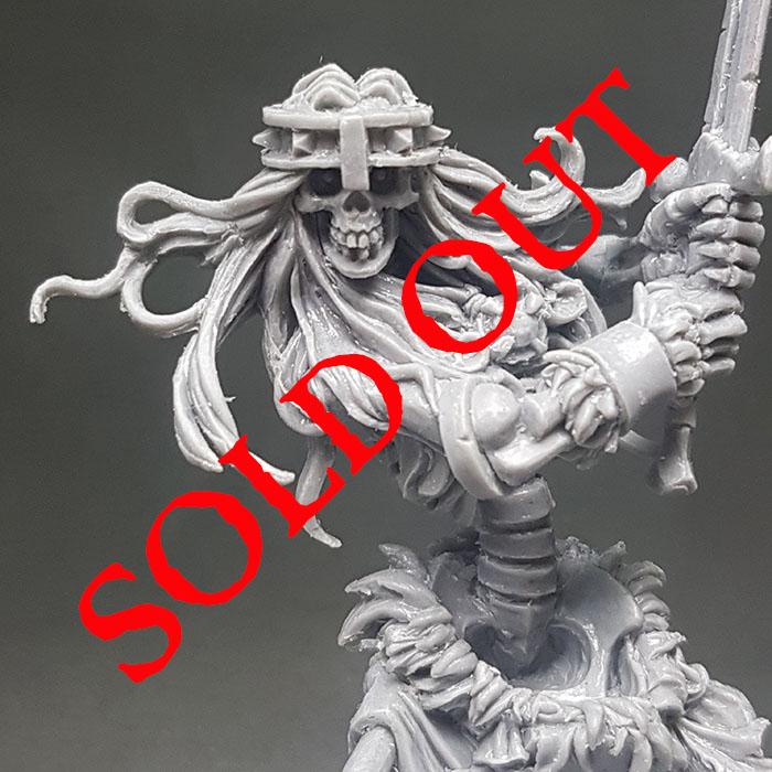 Sold Out Bonan the skeleton Barbarian