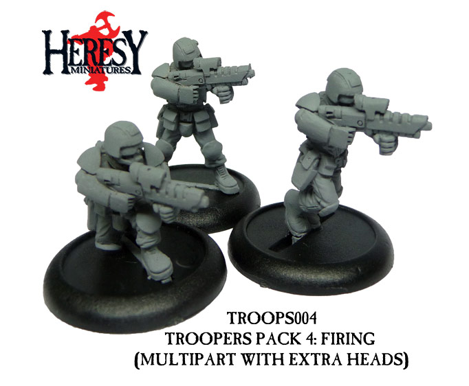 Troopers pack 4 (3 figures) - Click Image to Close